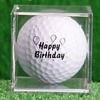 Birthday Golf Balls in a Cube