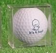 it's a boy, it's a girl golfballs