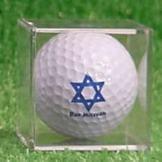 Bar Mitzvah Golf Cubes, Golf Ball Boxes