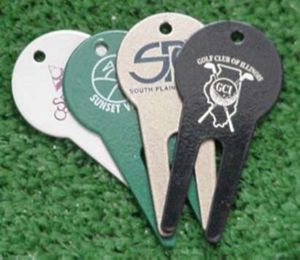 METAL GOLF DIVOT REPAIR TOOLS