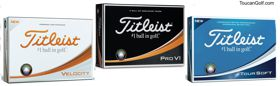 Titleist golf balls, AblePrint/Toucan Golf